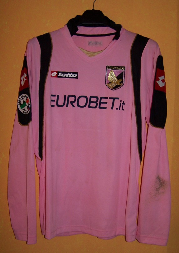 finest selection 5bdd8 91fde Palermo 2009.10 player shirts